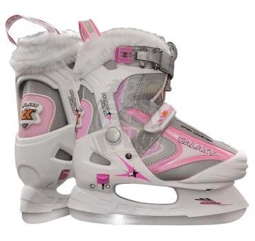Коньки раздвижные Maxcity Galaxy Girl Pink