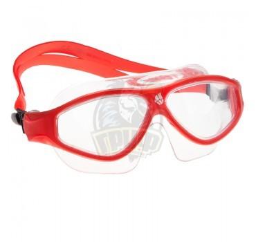 Очки-маска для плавания Mad Wave Flame Mask (красный)