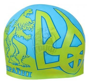 Шапочка для плавания Mad Wave с символикой Ukraine