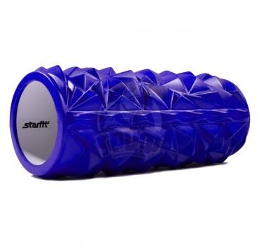 Ролик для йоги и пилатеса массажный Starfit 33х14 см (синий)