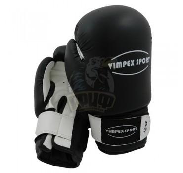 Перчатки боксерские Vimpex Sport 3009 кожа